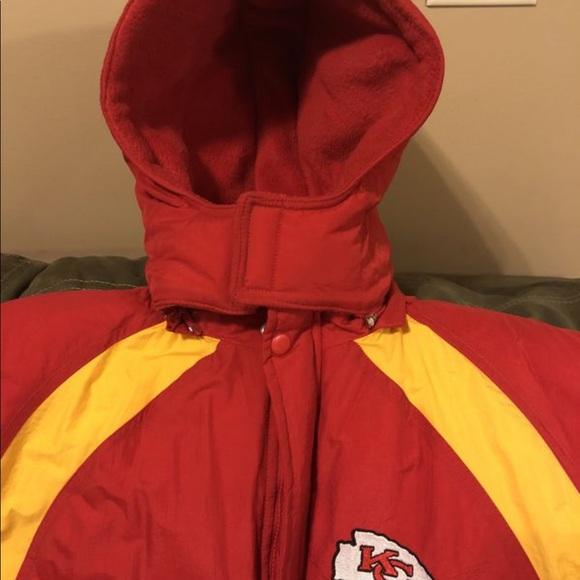 low priced 93e8e 89c59 Kansas City Chiefs Winter Coat